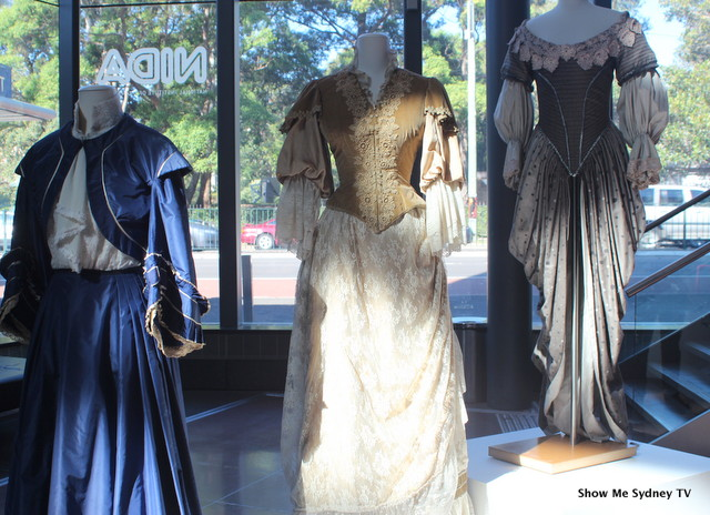 Original costumes on display as part of the exhibition ©ShowMeSydneyTV
