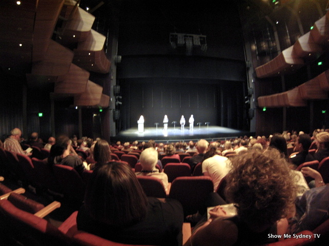 The audience listens to a reading of a scene from What If You Died Tomorrow? by David Williamson. ©ShowMeSydneyTV